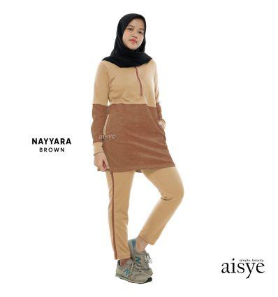 Aisye - Nayyara Sports Brown