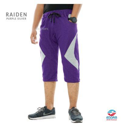 Edorasports - Bicycle Pants Raiden Purple Silver