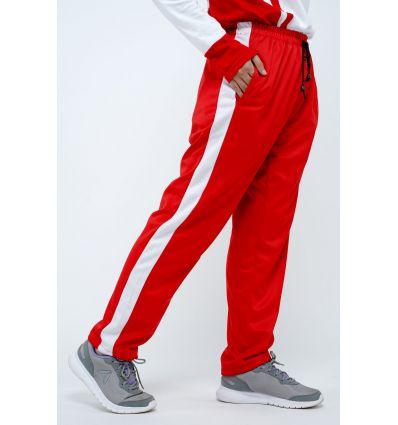 Rocella - Celana Jogging Wanita Red White