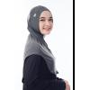 Rocella - Hijab Sonia Dark Grey