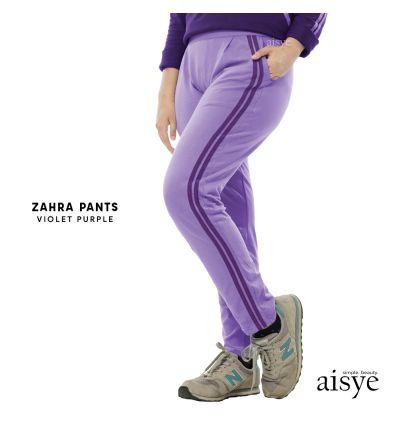 Aisye - Zahra Pants Violet Purple