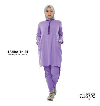 Aisye - Zahra Shirt Violet Purple