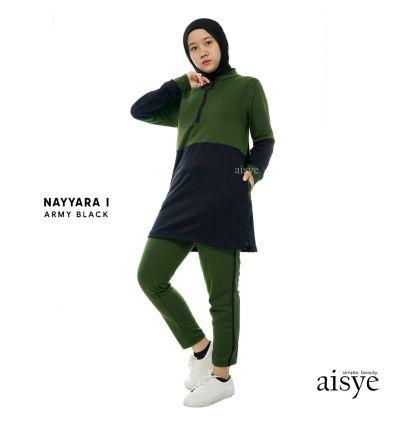Aisye - Nayyara I Sports Army Black