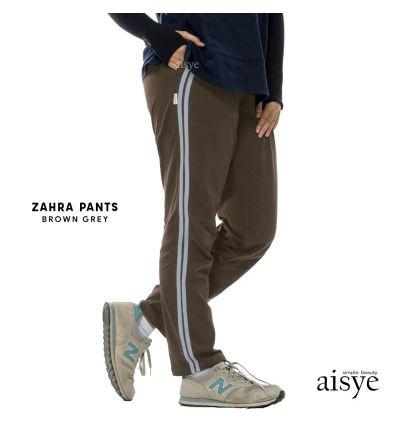 Aisye - Zahra Pants Brown Grey