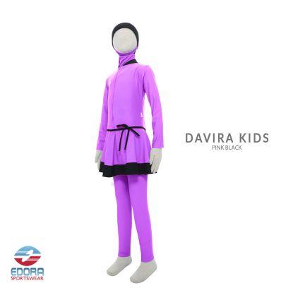 Edorasports - Davira Kids Pink Black