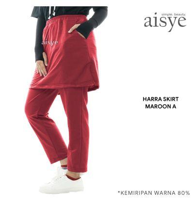 Aisye - Harra Skirt Maroon A