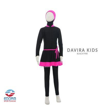 Edorasports - Davira Kids Black Pink