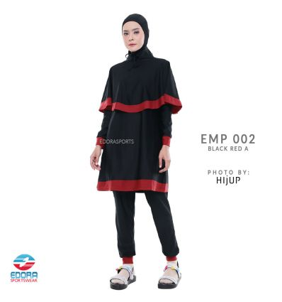 Edorasports - EMP 002 Black Red A